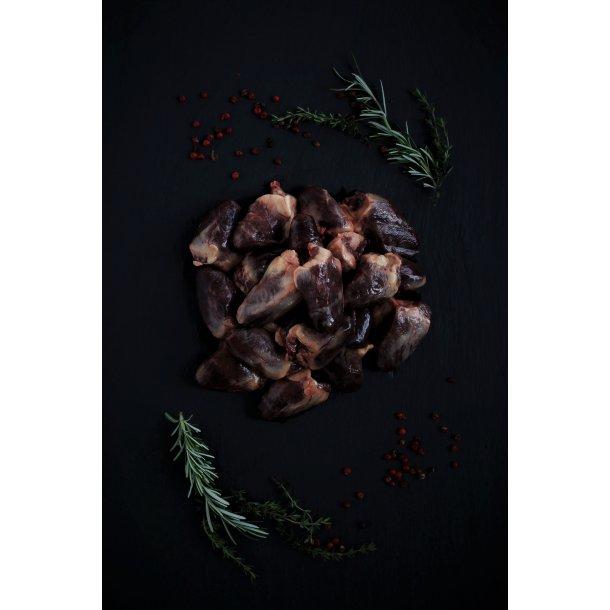 Andehjerter - Økologisk og Dansk. FROST, Kan kun bestilles til afhentning i butikken